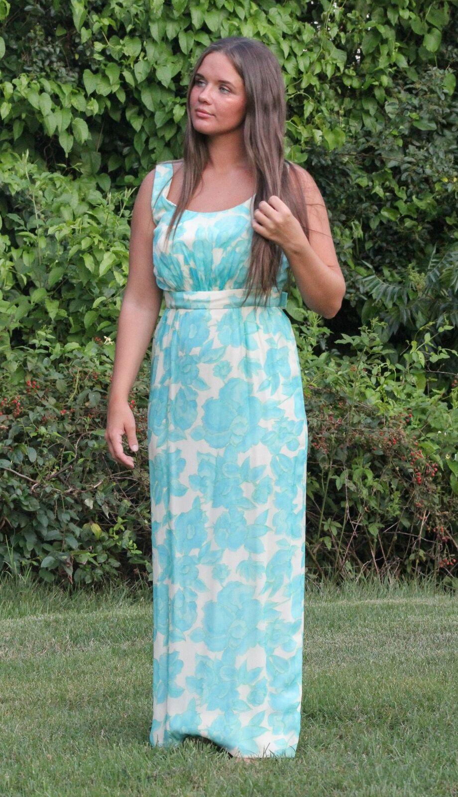 Vintage Lee Claire Maxi Dress - image 1