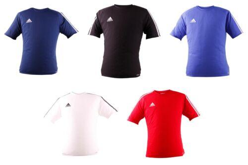 Adidas 3 Streifen Estro Climalite T-Shirt Herren Fußball T-Shirt