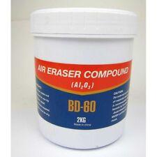 (7,75€/1kg) Schleifmittel Strahlsand BD-60 2 Kg für Air-Eraser