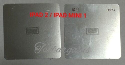 2X BGA REBALLING STENCIL DEDICATE KIT W024  IPAD 2 MINI 1 POWER IC 343S0593-A5