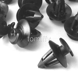 500 Pcs Black Door Panel Clips Fit For Porsche 911 928 944 968 #823867299 1971UP