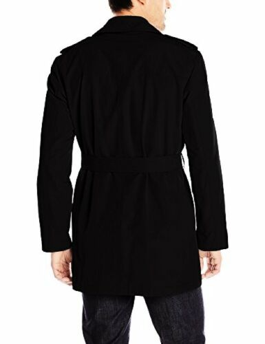 Navaco Mens Plus SZ Strike Double Breasted Stacy Adams Top Coats