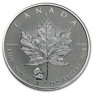 Canada 5 Dollars Argent 1 Once Maple Leaf 2016 Marque Privée Panda 1 Oz Silver Ytuachbo-07225256-686228025
