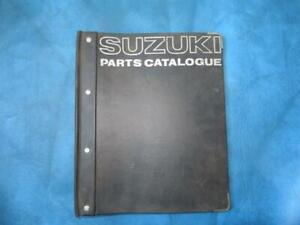 Original Suzuki Parts Catalogue For The T200 And Tc200 Motorcycles 351 Ebay