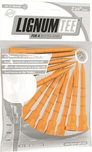 Lignum-Tees-1-Beutel-12-Stueck-a-72-mm-lang-Special-Edition-SPINNING-ORANGE