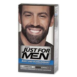 Details zu Just for Men Beard and Moustache Colour Gel Real Black M-55