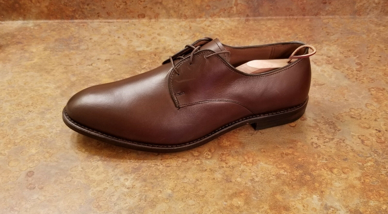 New  Allen Edmonds 'Kenilworth' Derby Oxfords Marroneee Leather Mens 12 3E MSRP  395