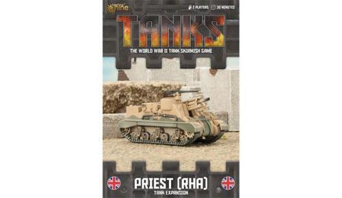 Gale Force Nine TANKS63 Britannique Prêtre Rha Chars Expansion