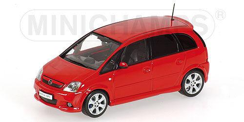 Opel Meriva A Opc 2006 Rouge Red Minichamps 1 43 Ebay