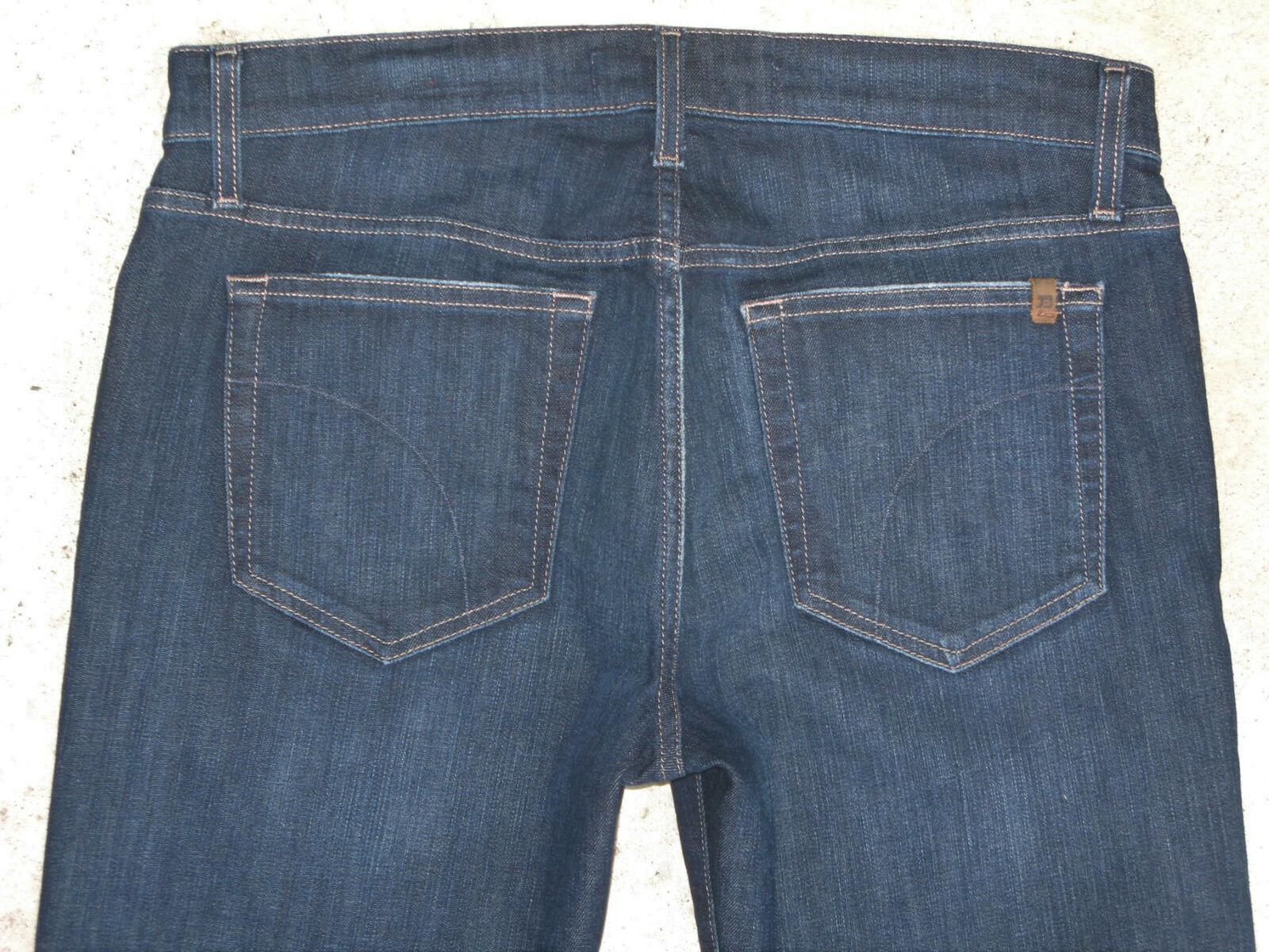 J0E's Brixton Skinny Jeans Mens Sz 33 x 34 w Stretch Low Slim Straight Dark bluee