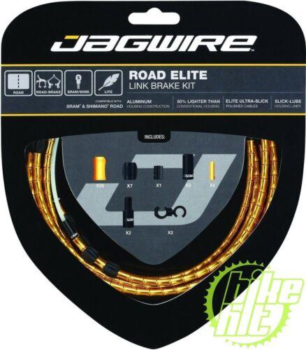 JAGWIRE Bremszugset Road Elite Link gold