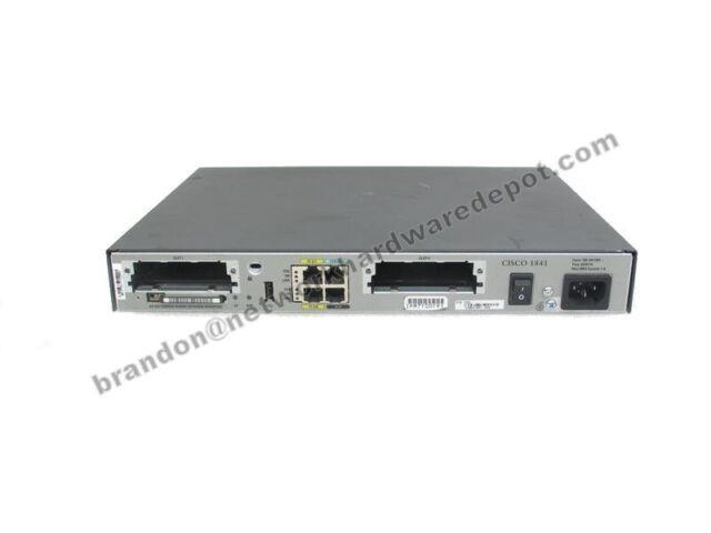 Cisco 1841 2-Port 10/100 Wired Router (CISCO1841-T1) | eBay