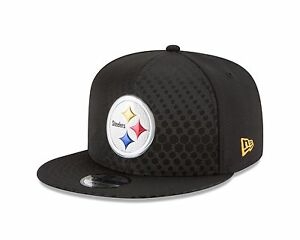 online store ae932 d58a6 Image is loading Pittsburgh-Steelers-New-Era-2017-Color-Rush-Snapback-