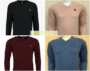 LYLE-AND-SCOTT-LONG-SLEEVE-V-NECK-JUMPER-FOR-MEN-WINTER-COLLECTION
