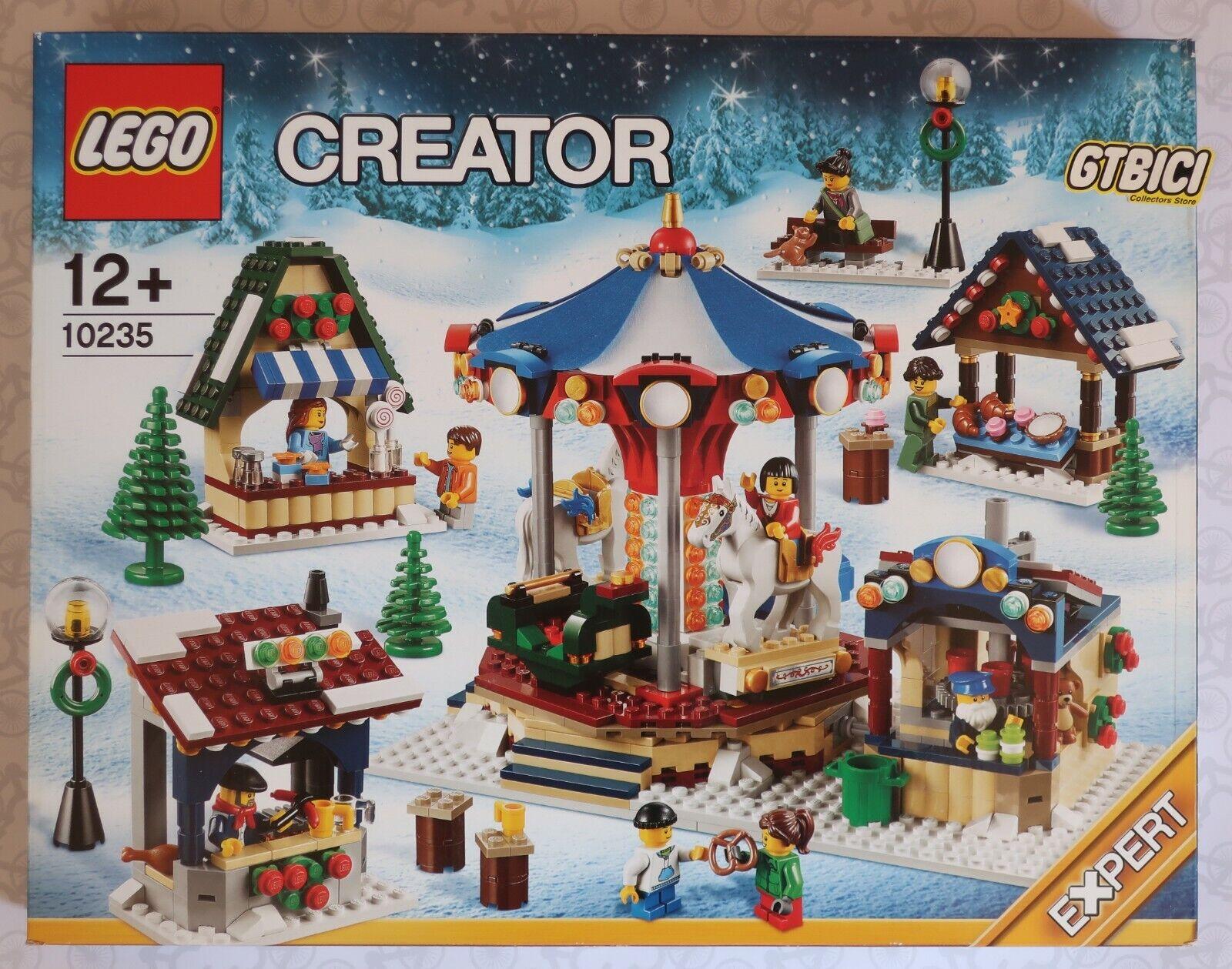 LEGO CREATOR  `` WINTER VILLAGE MARKET ´´   Ref 10235  NUEVO A ESTRENAR