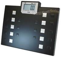 MY WEIGH XL550 TALKING DIGITAL BATHROOM BARIATRIC OBESE PEOPLE BODY WEIGHT SCALE