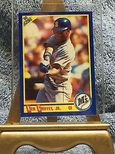 b7e61a7a2e 1990 SCORE Ken Griffey Jr. #560 Seattle Mariners Baseball Card ...