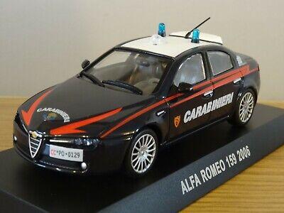Alfa Romeo 159 2005 Polizia 1:43 NOREV DIECAST MODEL CAR