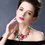 Fashion-Crystal-Pendant-Bib-Choker-Chain-Statement-Necklace-Earrings-Jewelry thumbnail 157