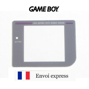 Ecran-Game-Boy-Classique-FAT-Screen-Vitre-de-remplacement-Gameboy-GB-FRANCE