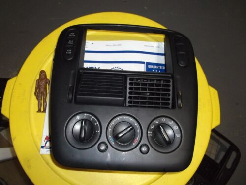 ✅ FORD EXPLORER CLIMATE CONTROL DASH BEZEL AC A//C 4X4 4WD SWITCH TRIM CENTER !!