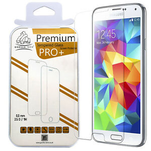 san francisco c09fd 6e573 Details about Samsung Galaxy S5 Gorilla Tech Tempered Glass Screen  Protector Invisible Cover