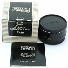Bronica ETR ETRS ETRSi Extension Tube E-28, boxed, mint condition