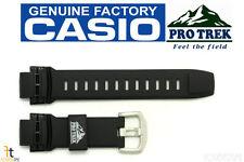 CASIO Pathfinder Protrek PRW-2500 18mm Black Rubber Watch Band PRW-5100
