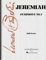 DéVoué Bernstein Jeremiah (symphonie Nº 1) Full Score-afficher Le Titre D'origine Sensation Confortable
