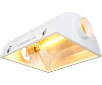 LUMii Reflector 6 inch Flange AC Unit - MH or HPS - Mogul Socket - Operates up to 1000 Watt Bul... Garden on Sale