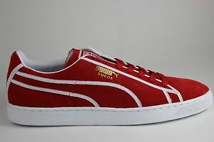 new products 310fd 03c68 Image is loading Men-039-s-PUMA-Suede-Courtside-Binding-35778303-