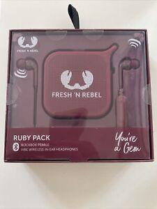Fresh 'n Rebel Cloud Pack Tragbare Mono Lautsprecher 1.0 Kanal Wireless Micro USB