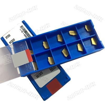 10pcs SP200 NC3020 GTN-2 Grooving Cut-Off Carbide Inserts 2mm Wide ZQMX2N11-1E