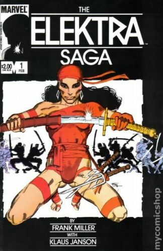 Elektra Saga #1 FN 1984 Stock Image