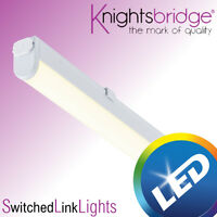 LED Linkable Under Cabinet Shelf Lighting Cool White Kitchen Strip Light 4watts