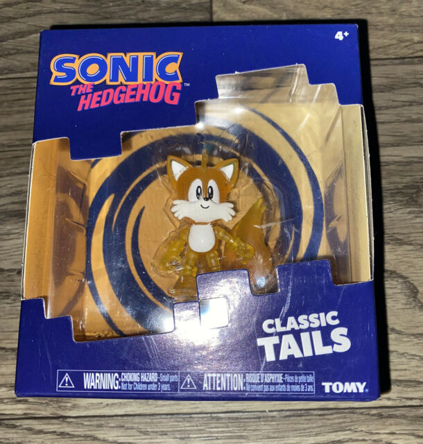 Sonic The Hedgehog Classic Tails Translucent Figure Tomy Video Game Classic New