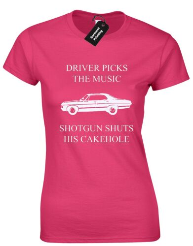 DRIVER PICKS MUSIC LADIES T SHIRT SUPERNATURAL WINCHESTER BROTHERS FASHION NEW