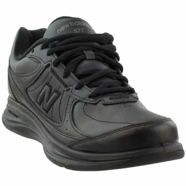 timeless design f0037 16e93 New Balance 577 Athletic Walking Shoes - Black - Mens