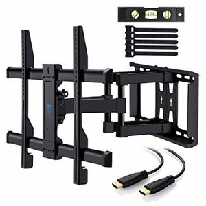 "ECHOGEAR Full Motion Articulating TV Wall Mount for 37-70/"" LED Plasma TVs LCD"