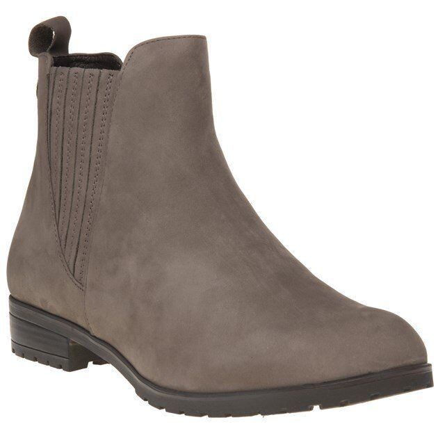 New Damenschuhe Nubuck Caprice Grau 25352 Nubuck Damenschuhe Stiefel Ankle Elasticated Pull On b0368b