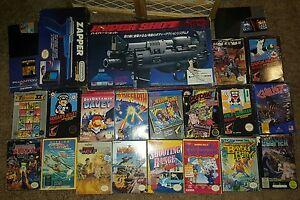 80s-Nintendo-Zapper-NES-LightGun-videoGAME-Complete-COLLECTION-amp-SUPERGUN-3-IN-1