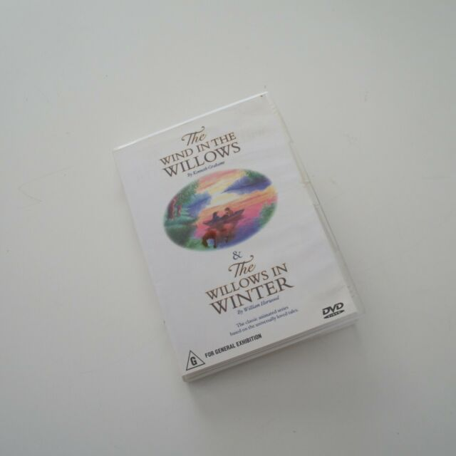 The Wind in the Willows & The Willows in Winter - Region 4 DVD VGC Aus + FREE PO