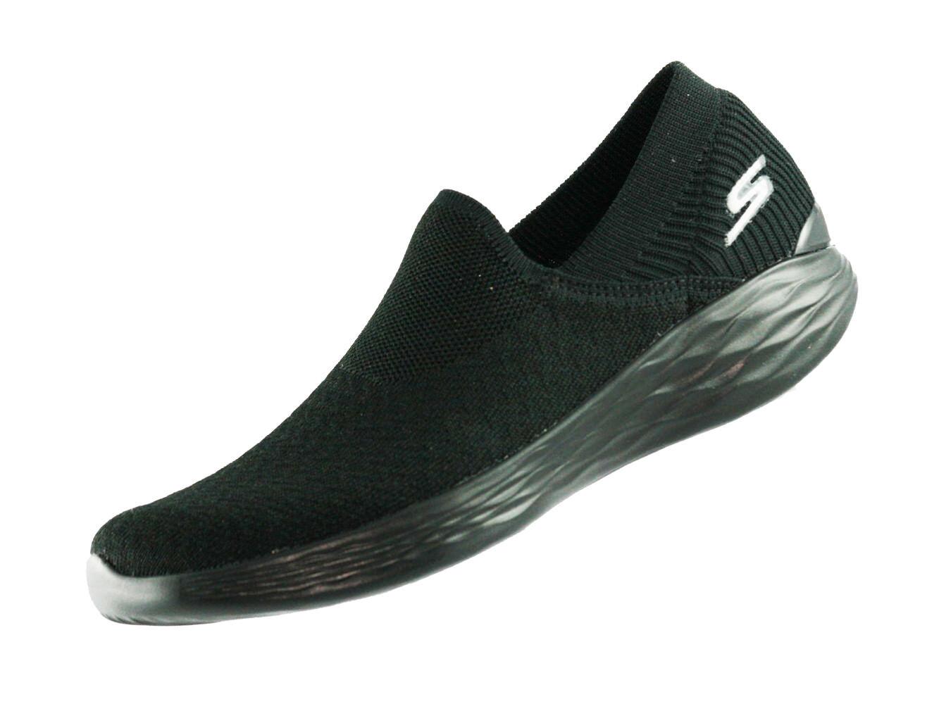 Zapatos promocionales para hombres y mujeres You by Skechers Transcend 14959 BBK Damen Goga Max Sportschuhe Turnschuhe Neu