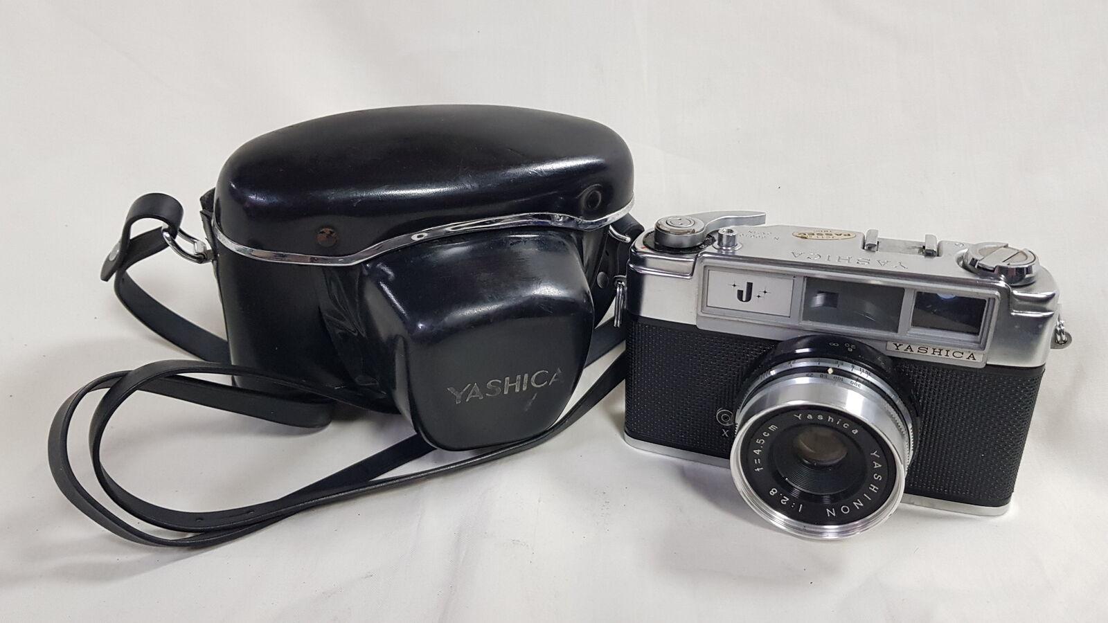 Rabatte Angebote Verkauf Yashica J Vintage Film Kamera mit Objektiv & Fall  nur USA Großhandelsrabatt online -engie-elektromontaz.pl