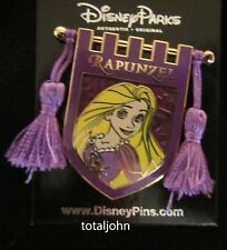 Disney Princess Tapestry Rapunzel Banner Tassel Pin