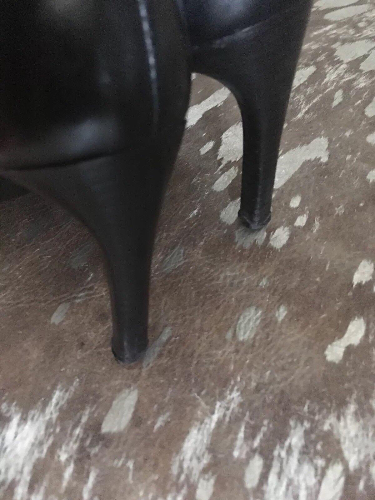 D&V Vero Cuoio Gr36 Leder Stiefel schwarz Gr36 Cuoio Top 79e5c3