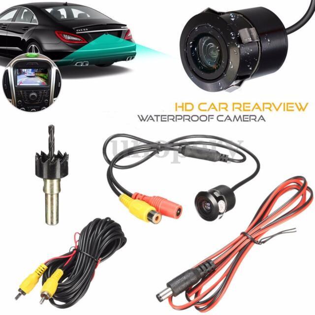 Waterproof 170° HD CCD Car Backup Rear View Reverse Parking Camera Night Vision