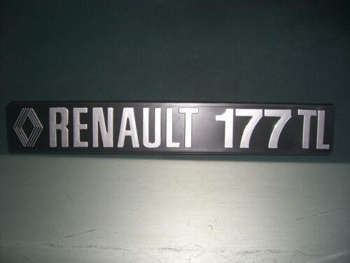 Emblème//badge renault 17 177 tl Espagne //Italie Exécution