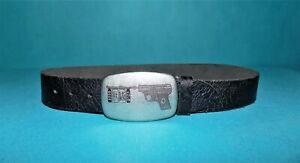 ceinture-IKKS-en-cuir-noir-taille-75-tres-bon-etat