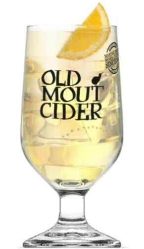 Old Mout Cider Pint Glass in Official Branded great Christmas gift free uk p/&p